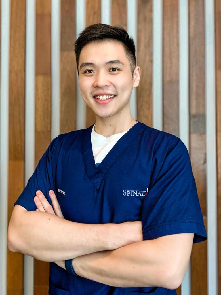 Dr Ivan Sin, a chiropractor.