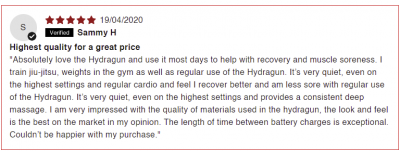 Positive review of the Hydragun